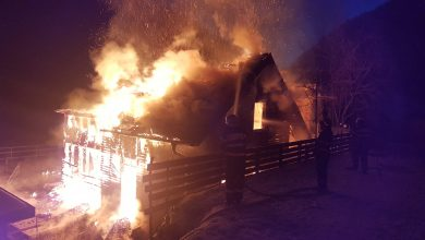 incendiu cabana marisel